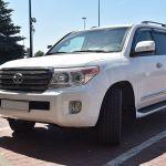 Pochodząca z przestępstwa Toyota Land Cruiser zatrzymana w Terespolu