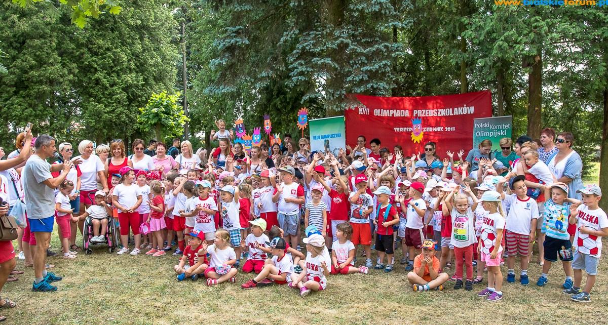 XVII Olimpiada Przedszkolaka w Terespolu