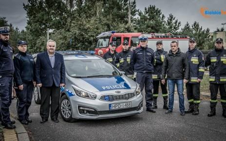 Zadbajmy o bezpieczeństwo na naszych drogach - akcja na Wyszyńskiego