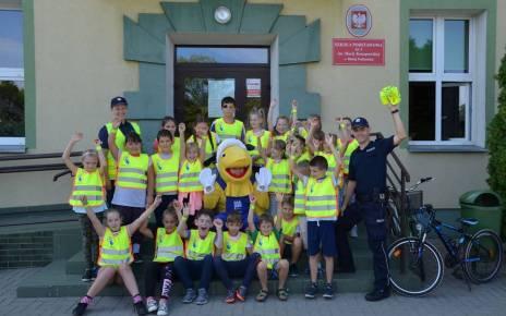 Praktyczna lekcja bezpieczeństwa w Szkole Podstawowej nr 3 w Białej Podlaskiej