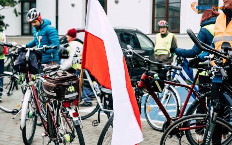 Rajd rowerowy Bialski Szlak Niepodległości
