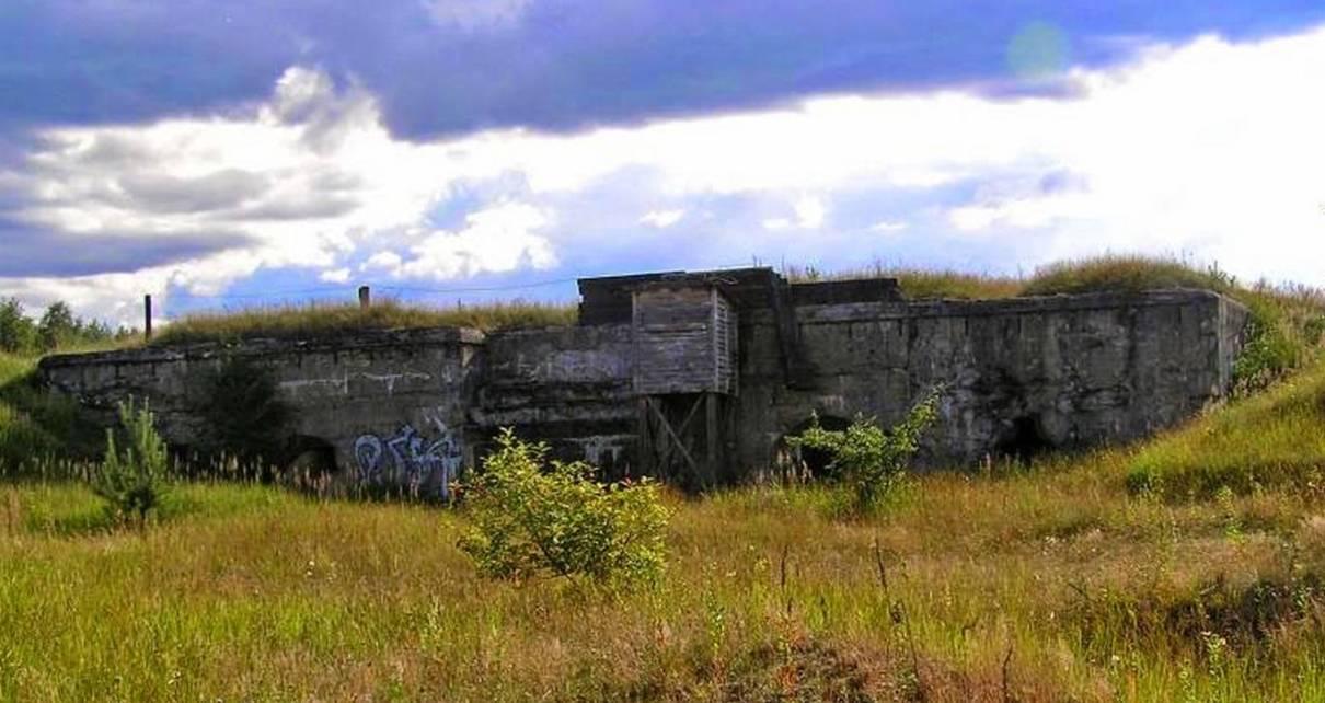 """Umocnienia Twierdzy Brzeskiej """"Fort lit. K"""" w Kobylanach"""