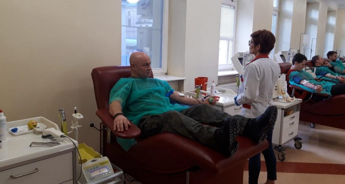 """""""Nowy rok, nowe życie"""" - Terytorialsi zebrali ponad 100 litrów krwi"""