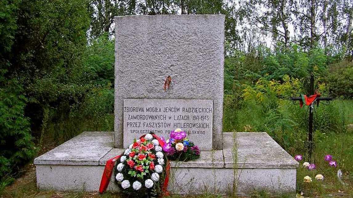 """Obóz jeniecki """"Frontstalag 307 – Unterlager C"""". Kaliłów - Woskrzenice Duże"""