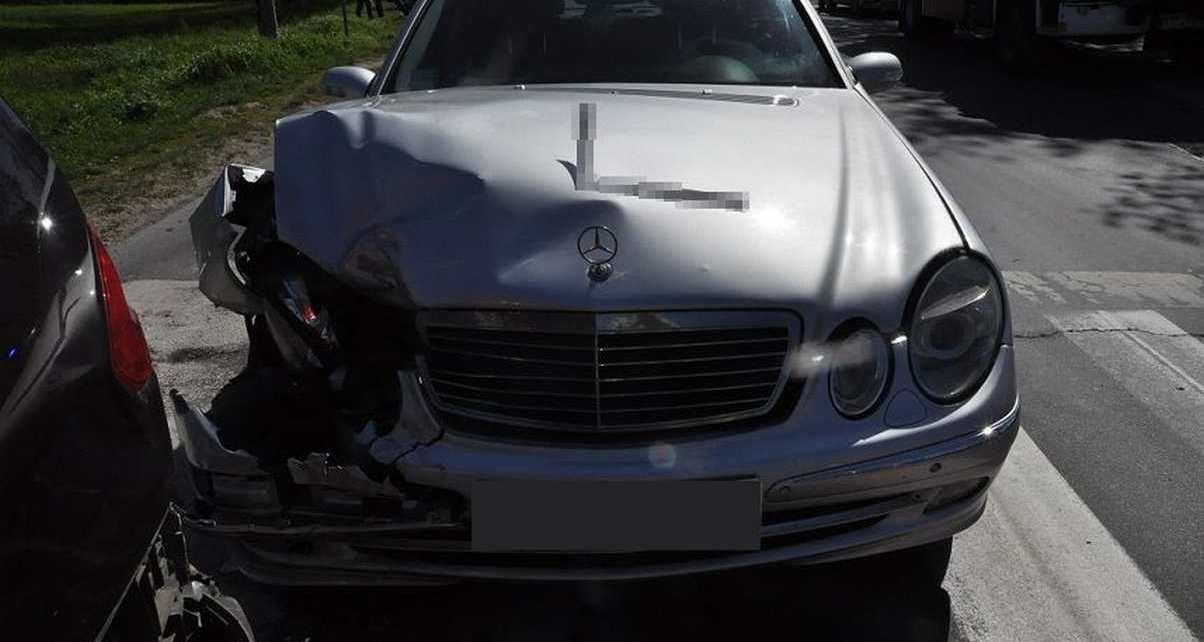Wypadki na drogach powiatu