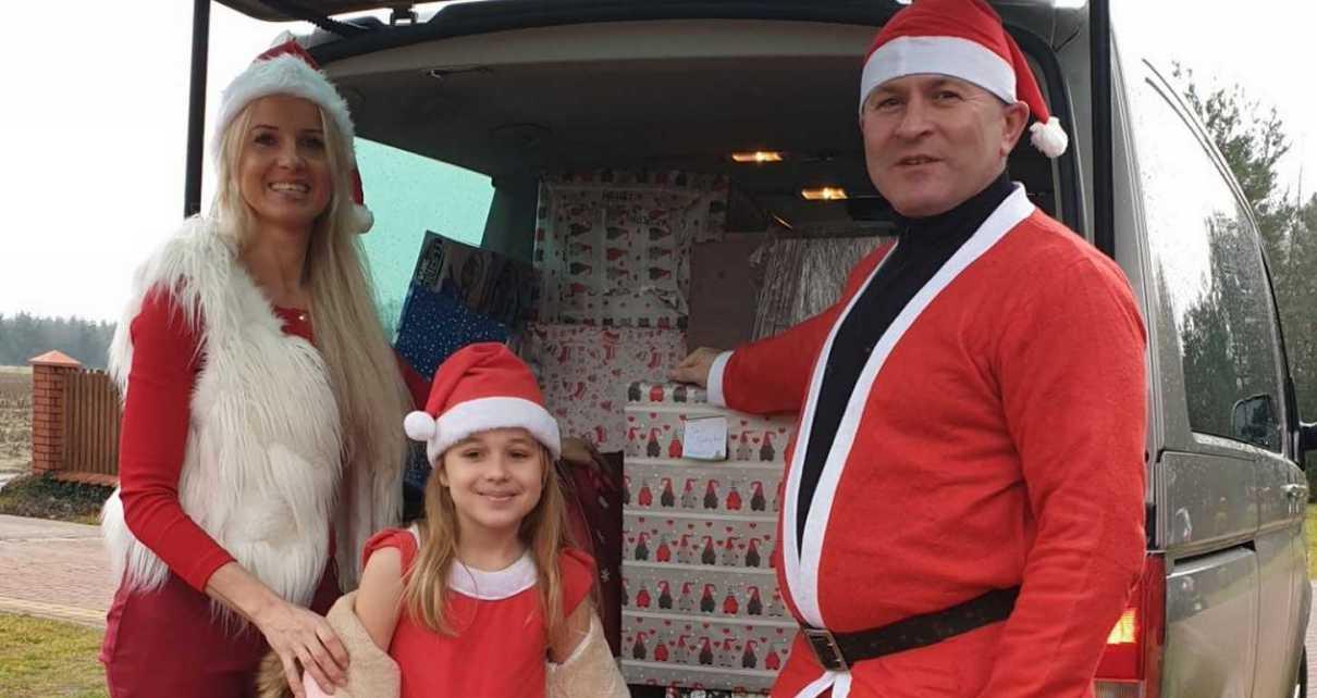 Akcja Zostań Świętym Mikołajem w gminie Łomazy