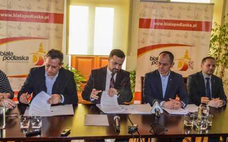 Podpisano umowę na dostawę i montaż pomp ciepła do c.w.u. na terenie Miasta Biała Podlaska