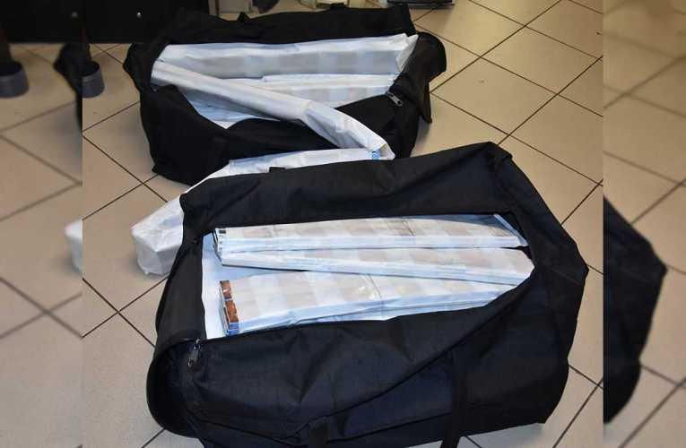37-letni obywatel Białorusi przewoził w bagażniku 160 kartonów papierosów