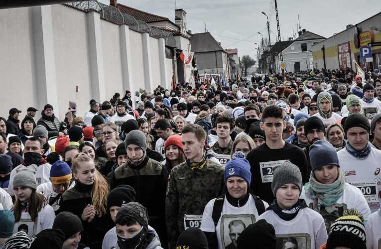 """VIII edycja biegu """"Tropem Wilczym"""" w Białej Podlaskiej"""