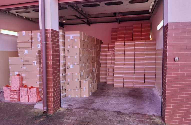 41500 kartonów papierosów – tyle próbował przemycić 27-letni Białorusin na przejściu w Sławatyczach