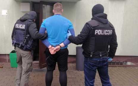 27-latek działał w zorganizowanej grupie przestępczej