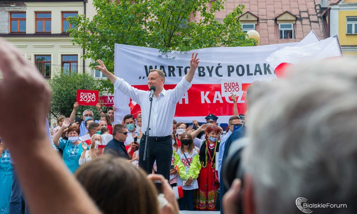 Andrzej Duda w Białej Podlaskiej