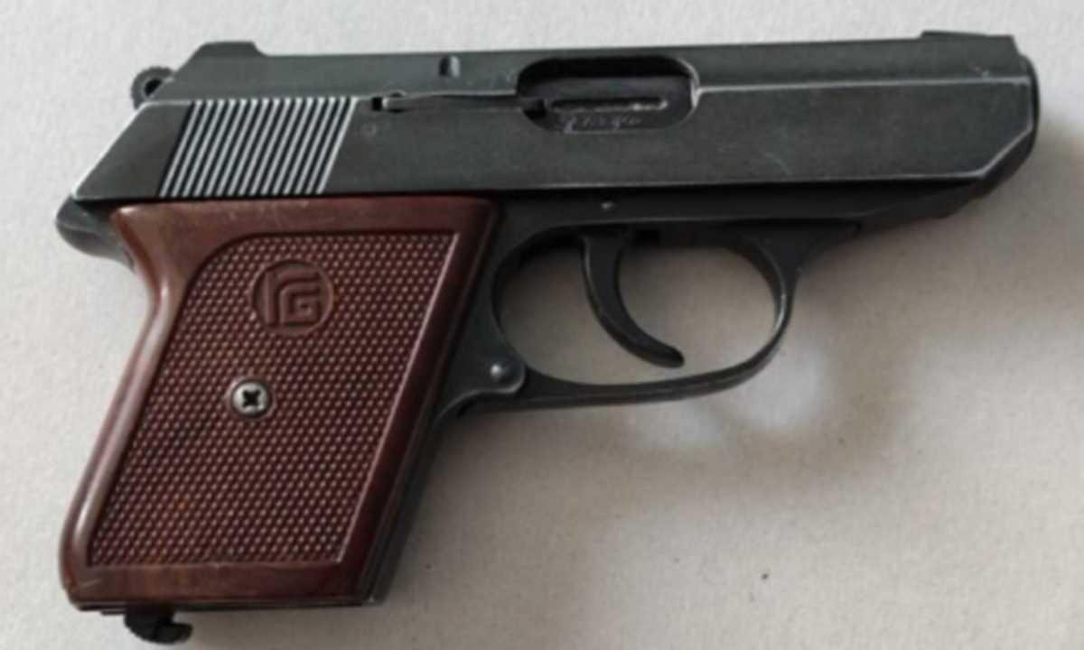 19-latek posiadał nielegalnie broń