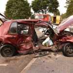Zderzenie 3 aut w Janowie Podlaskim Kolonii
