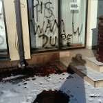 Kolejny atak na biuro parlamentarne PiS