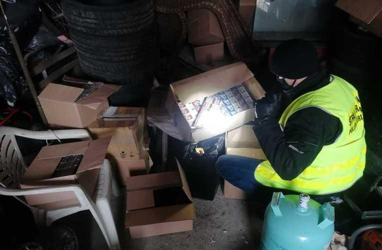 Zabezpieczyli papierosy z przemytu o wartości prawie 40 tys. zł