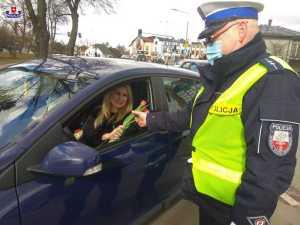 Akcja Dzień Kobiet na drodze