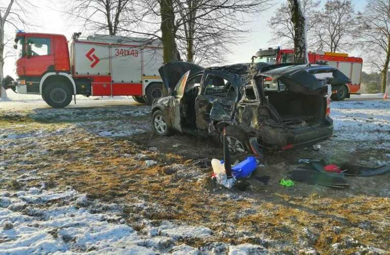 Warunki drogowe zaskoczyły kierowców