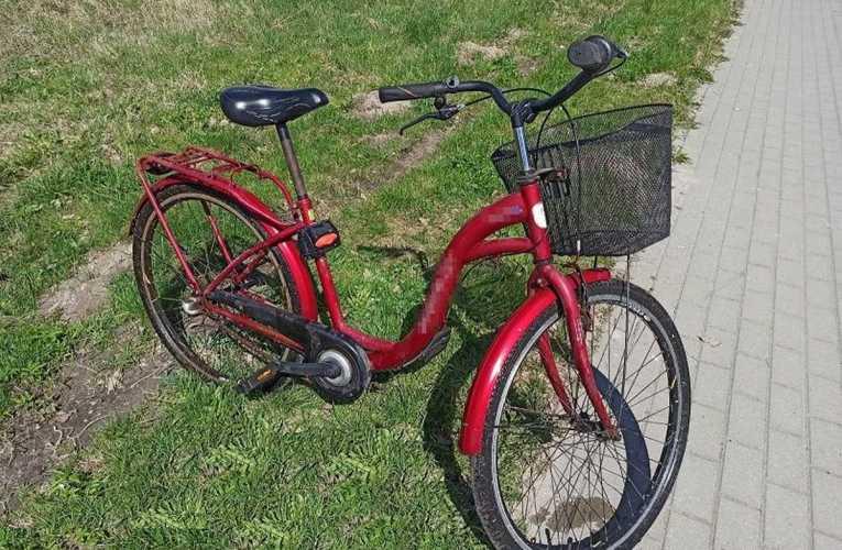 Wykorzystał okazję i ukradł rower
