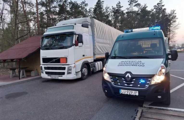 Naruszenia z zakresu transportu towarów niebezpiecznych