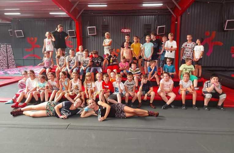 Dzieci z gminy Piszczac wybrały się na wycieczkę do Warszawy