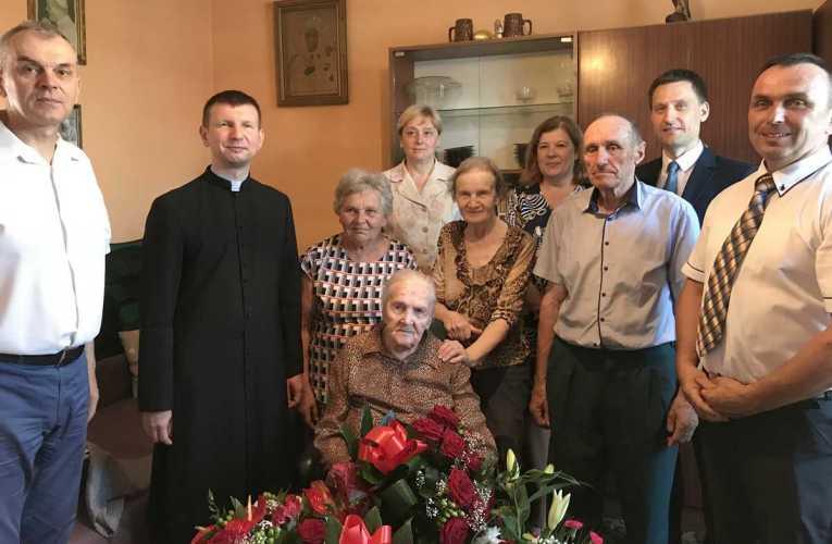 Najstarsza mieszkanka gminy Łomazy skończyła 100 lat