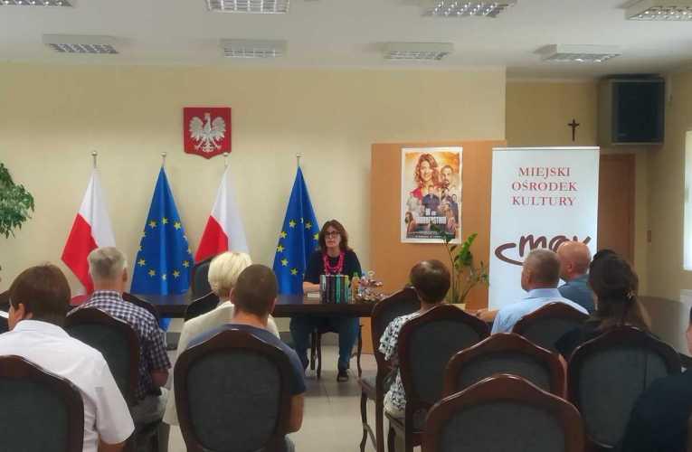 Spotkanie z pisarką i scenarzystką Katarzyną Gacek- relacja
