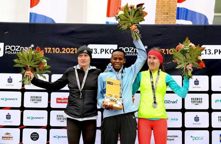 Rekord trasy poznańskiego półmaratonu i rekord Polski w półmaratonie kobiet