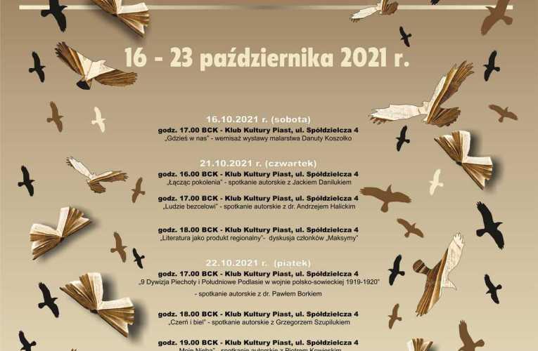 XXXVII Podlaskie Spotkania Literackie – spotkanie z członkami Bialskiego Klubu Literackiego