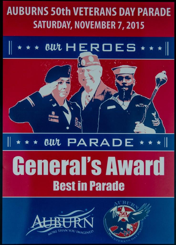 2015 General's Award
