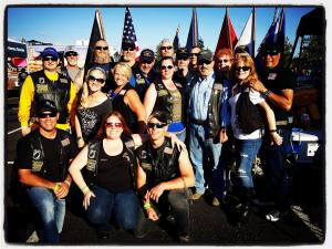 Original Chapter Rock and Rally For The Troops Crew 2016.