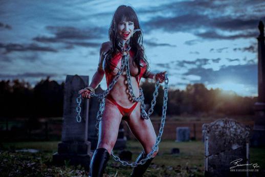 Shot on location in an abandoned cemetery 90 minutes from Montreal, Canada