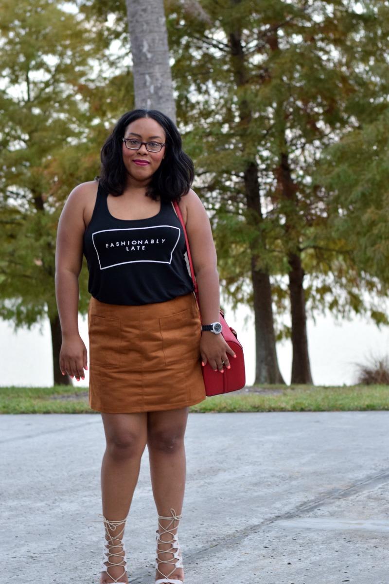 Fashionably Late | Elle B Styles