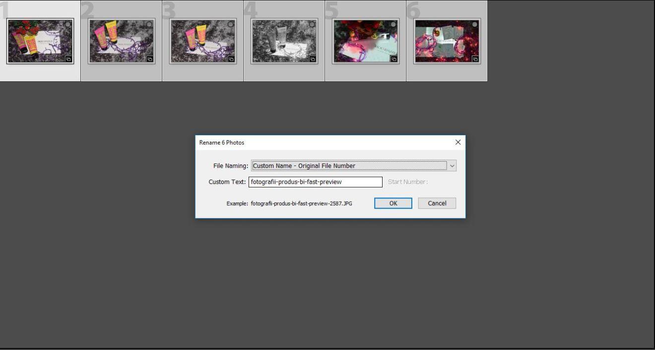 redenumire fotografie export lightroom seo pentru fotografi bianca ionel fast preview