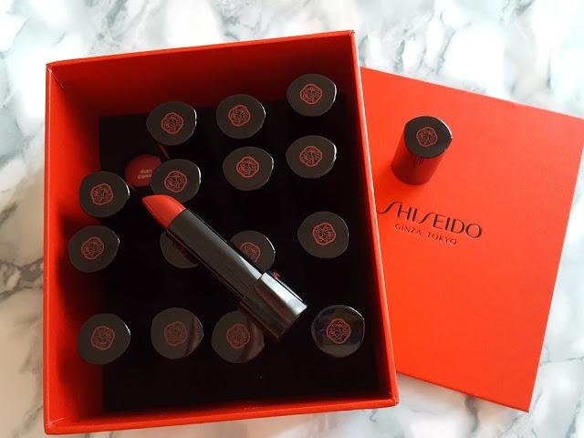 Nuovi rossetti Rouge Rouge. Il rosso secondo Shiseido