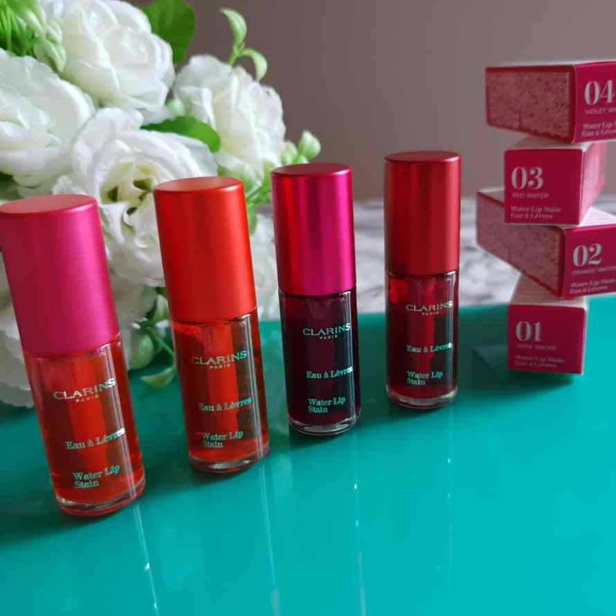 Water lip stain Clarins