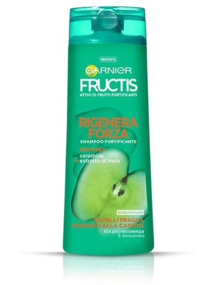 Shampoo Fructis Rigenera Forza Garnier