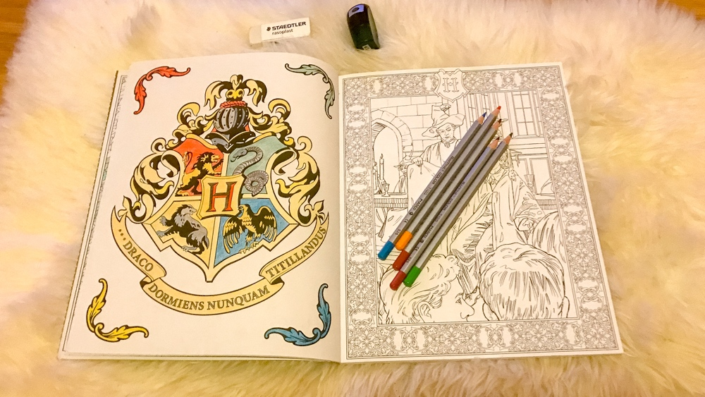 harry potter kleurboek 2