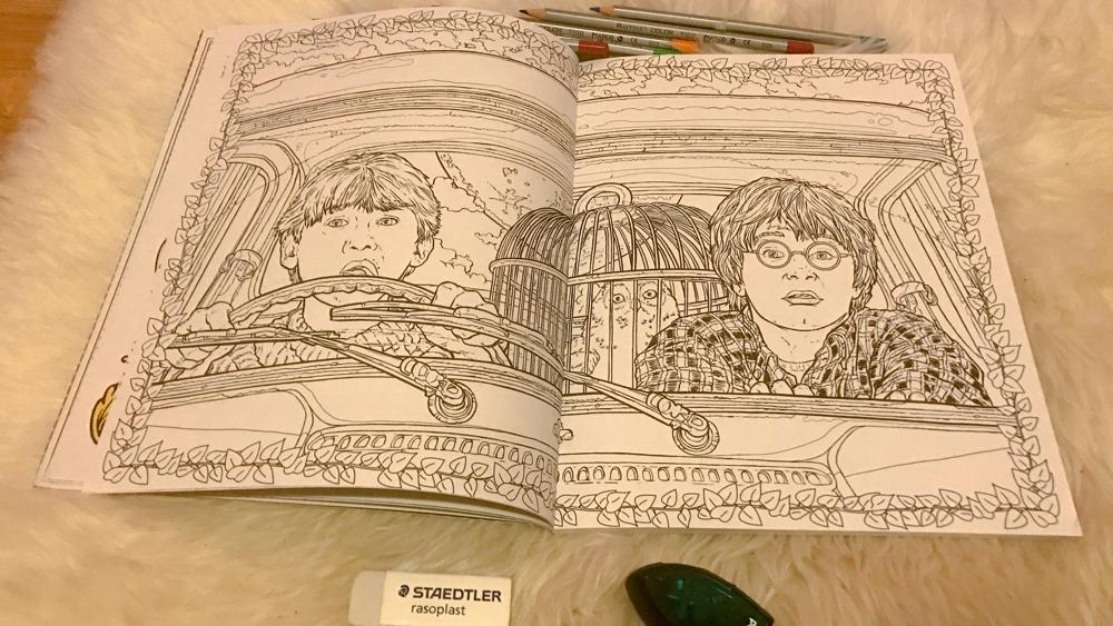 harry potter kleurboek 4