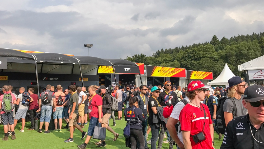 Spa Francorchamps Fanzone activiteiten