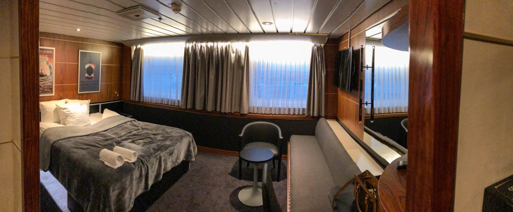 Dfds seaways commodore deluxe hut