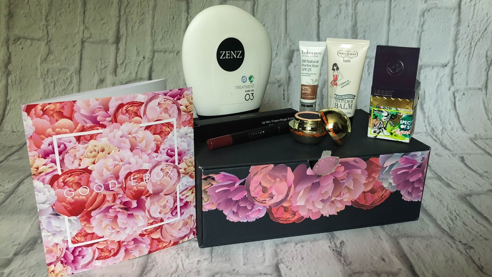 Goodiebox april 2018 alle producten