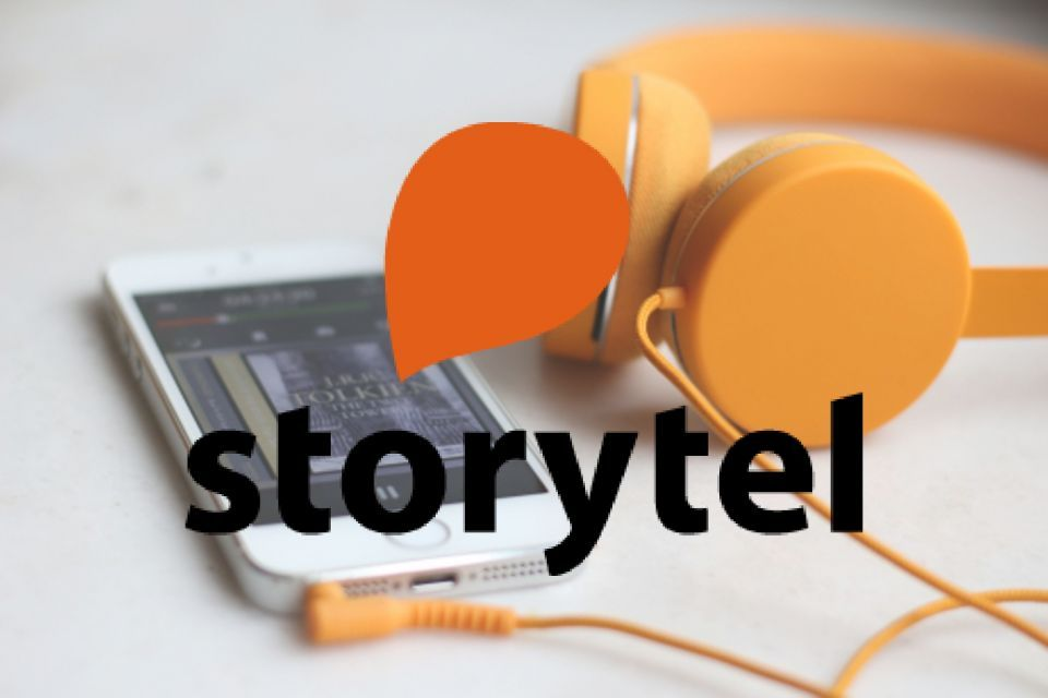 Storytel headphone