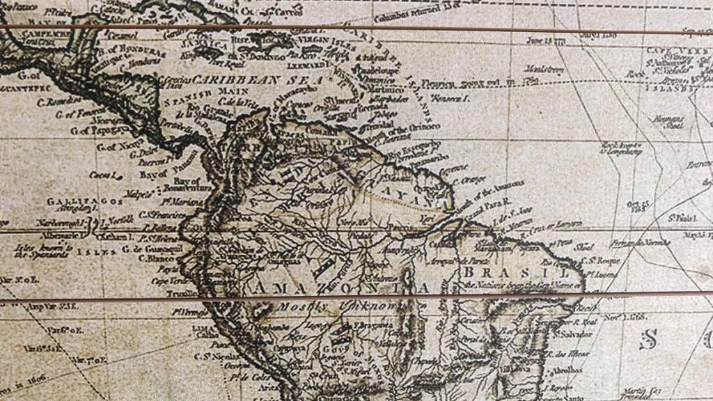 caribisch gebied van wereldkaart.nl