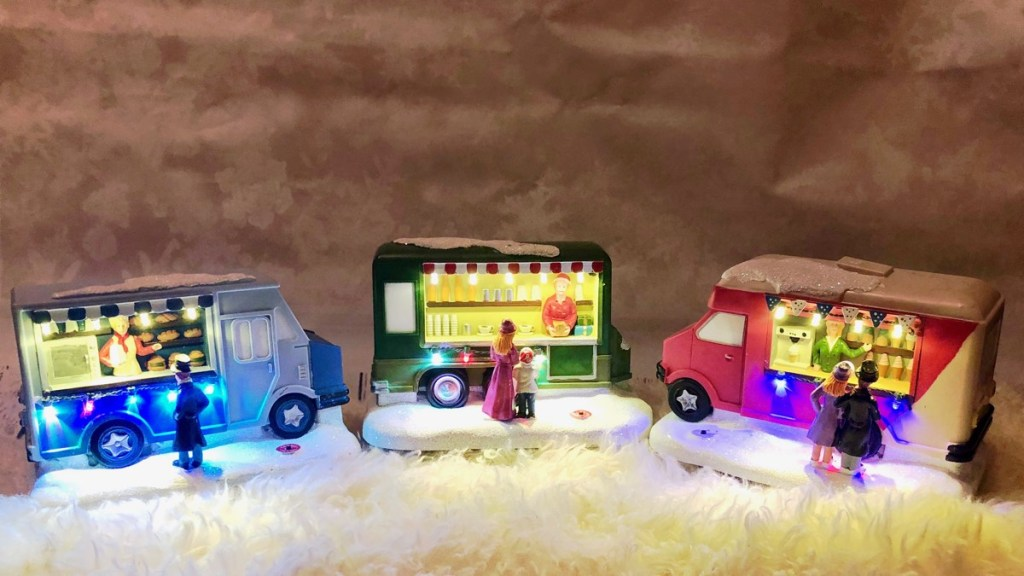 Action kerst foodtruck