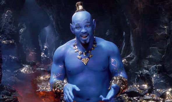 Live action aladdin will smith