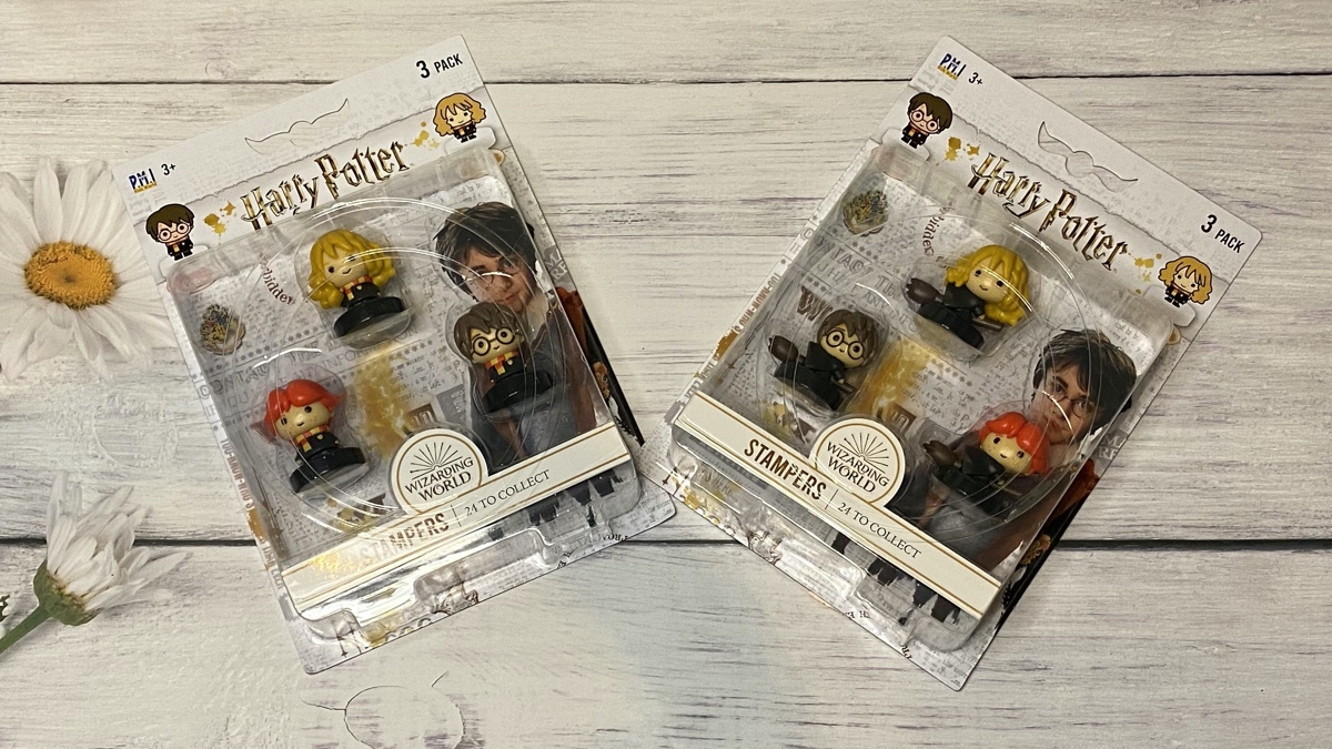 Harry, Ron, Hermoine stampers