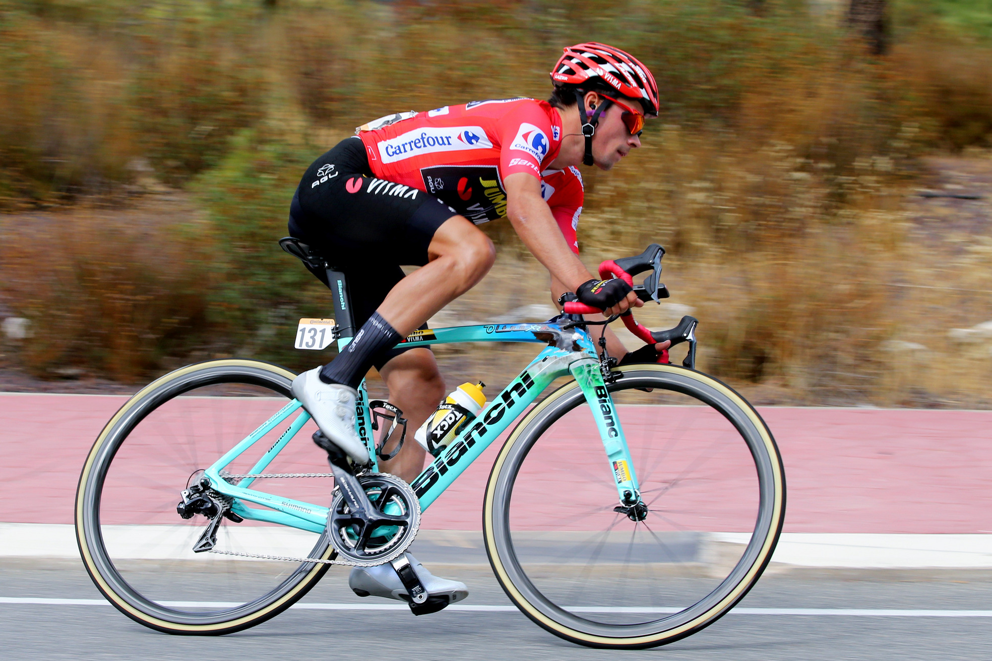 https www bianchi com vuelta leader roglic runner up in stage 18