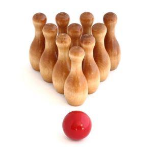 gioco montessori bowilng