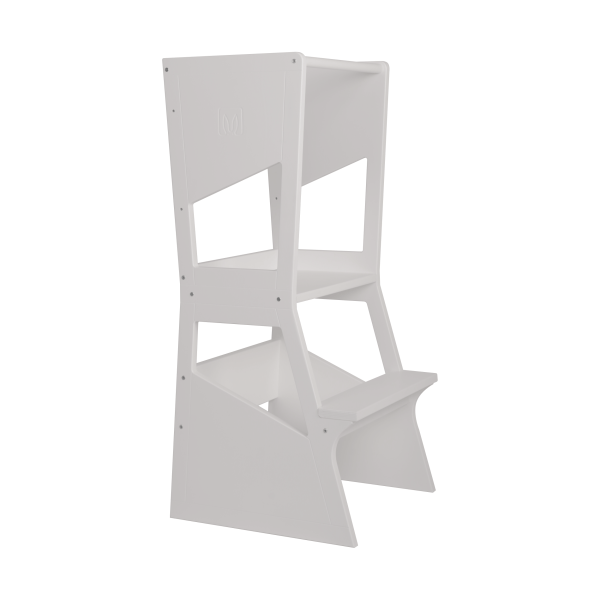 Learning Tower MOKA Bianconiglio Kids - White finish